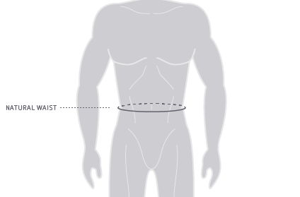 Body measurement illustration